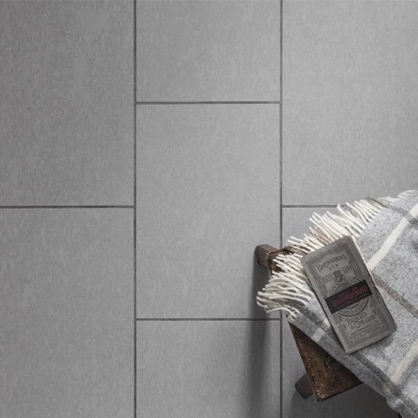 Organics Stone Cambrian Flooring with Dark Grey Feature Strip