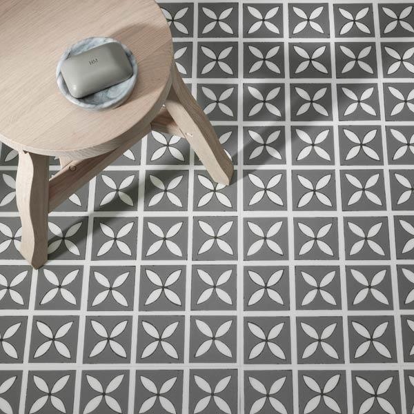 Patterned Vinyl Flooring Pattern Floor Tiles Harvey Maria