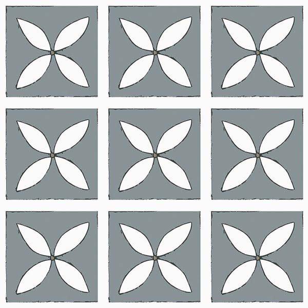 Tarn single floor tile