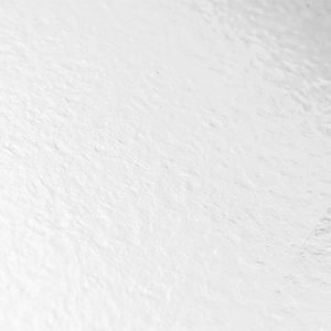 White shiny vinyl flooring