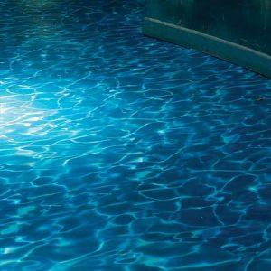 Water flooring in a nightclub
