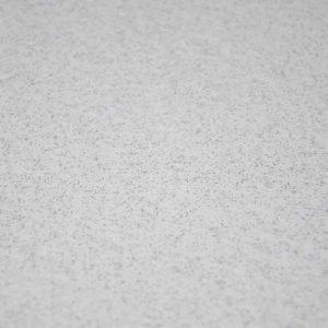White sparkle vinyl floor tile
