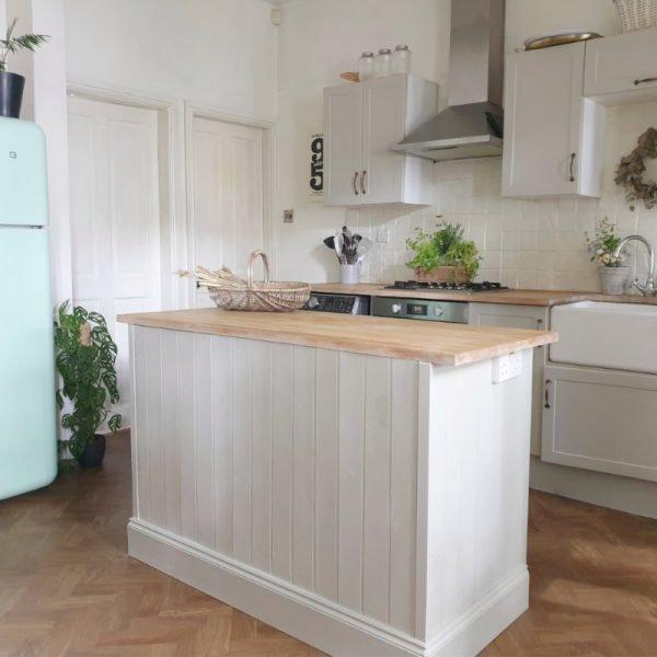 parquet spring oak kitchen floor