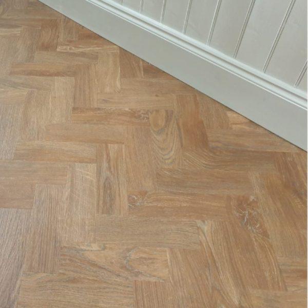 parquet spring oak wood floor detail