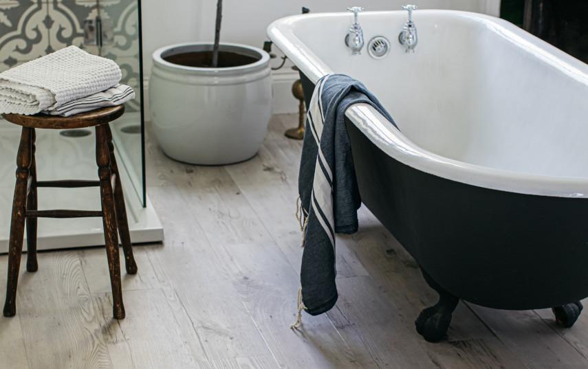 Bathroom Flooring Ideas - Rubber & Vinyl by Harvey Maria