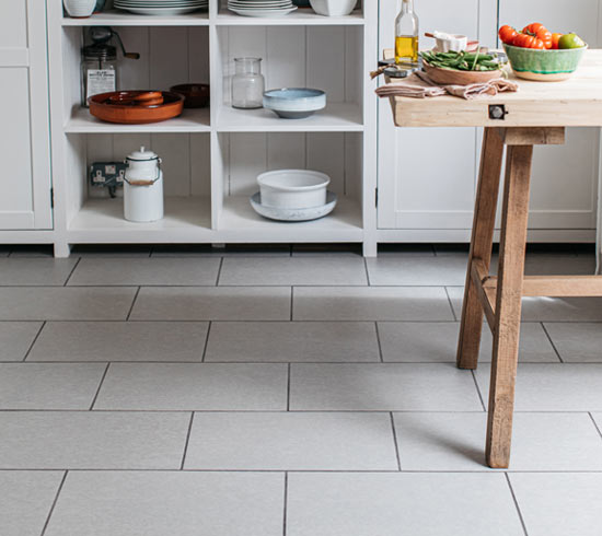 stone effect kitchen flooring