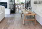 Authentic wood effect floor in a rustic lounge