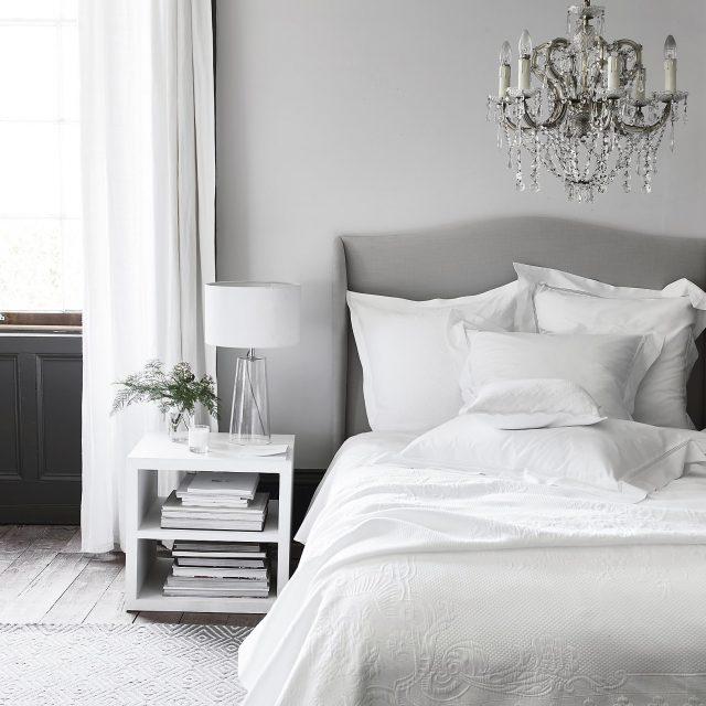 grey bedroom scheme