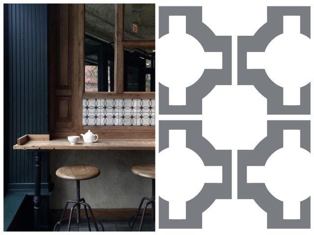 parquet vinyl flooring in kitchen