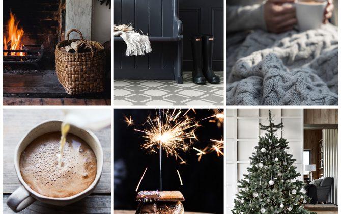 christmas isnpiring moodboard images