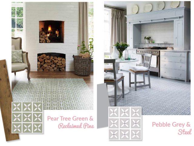 lattice vinyl flooring