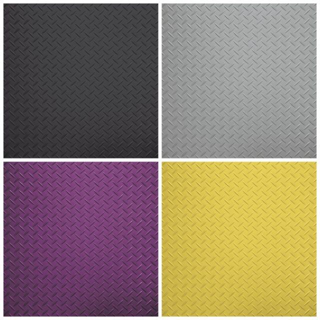 tread plate vinyl floor samples