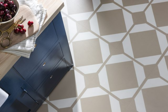 dovetail ochre kitchen floor