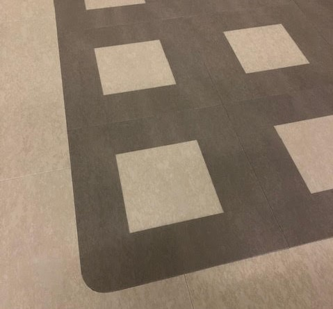floorskills example vinyl tile