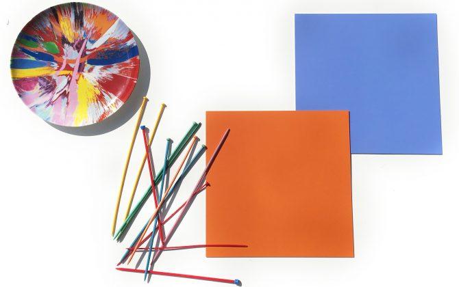 colourful vinyl tiles