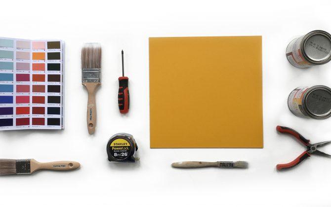 yellow lvt flooring