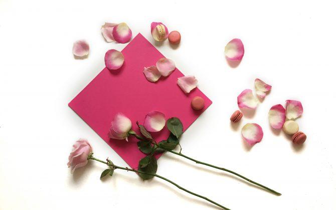 raspberry pink vinyl tiles