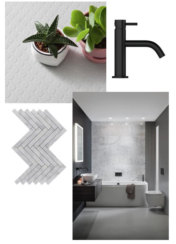 rubber flooring bathroom inspiration grey