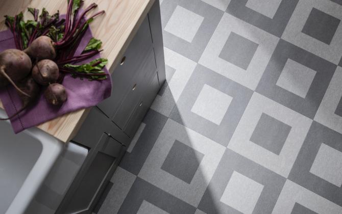 stone effect kitchen floor tiles