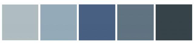 blue vinyl tile swatches