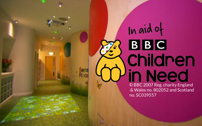 grass flooring in hallway for children in need