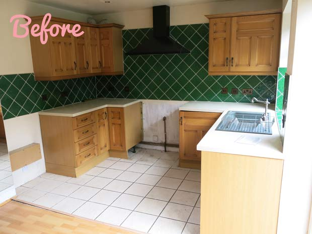 kitchen before rennovation