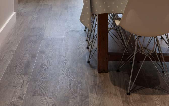 oak effect kitchen flooring