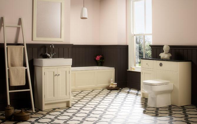 black parquet floor tiles