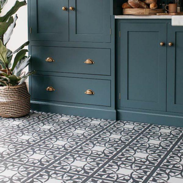 pembroke lsate kitchen flooring encaustic tiles
