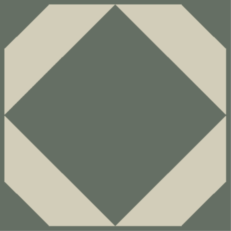 french clay green floor swatch