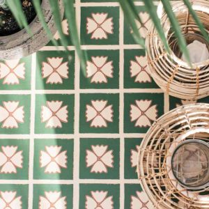 dee hardwicke green floor lvt tiles