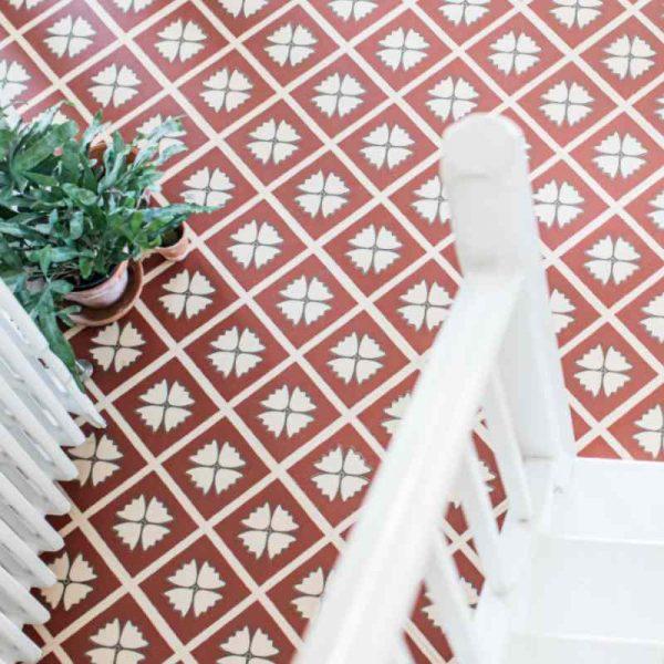 hallway terracotta flooring