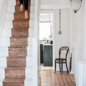 terracotta entrance way flooring
