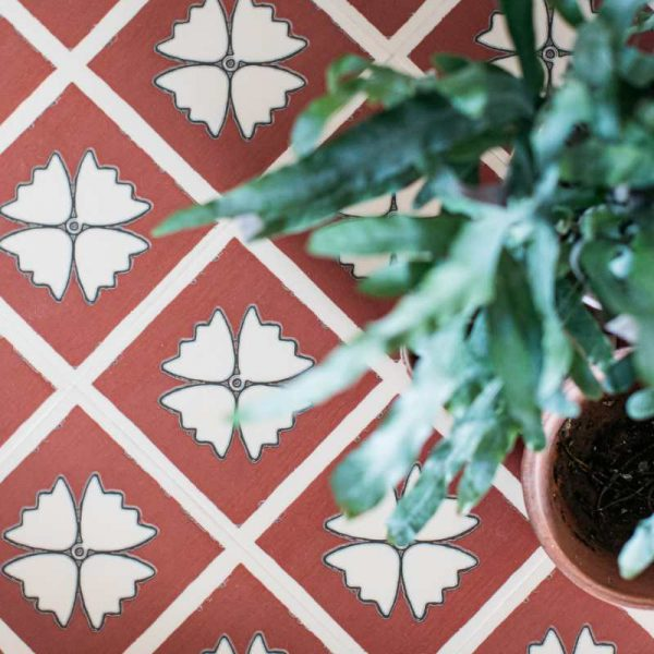 terracotta pattern floor