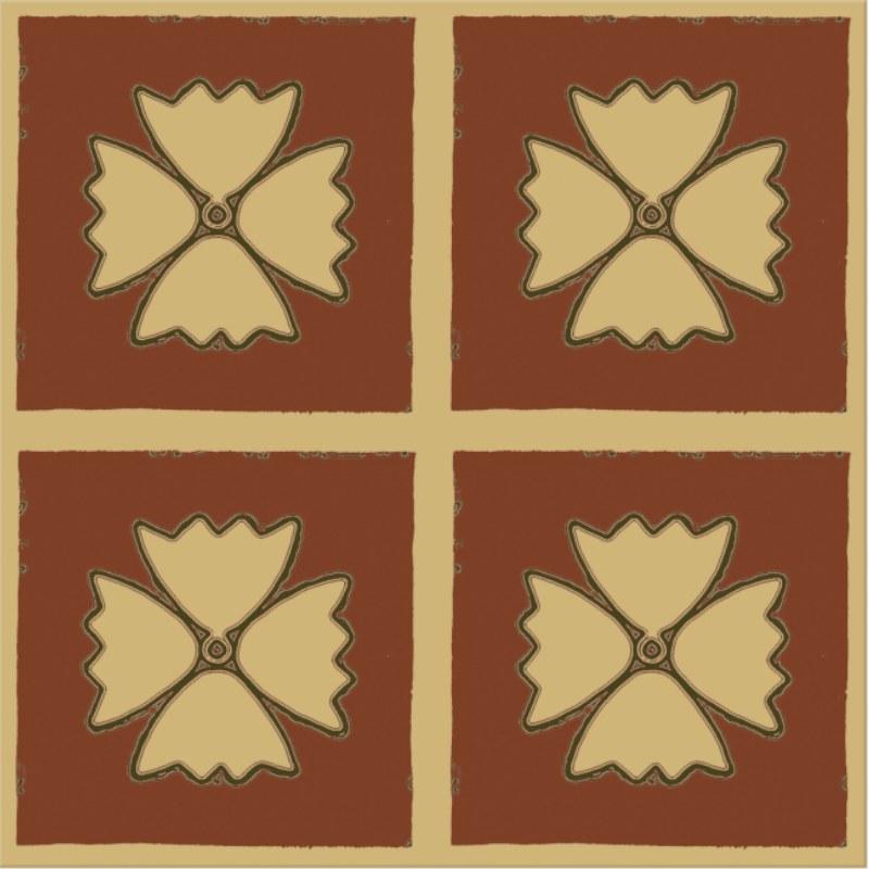 warm terracotta floor