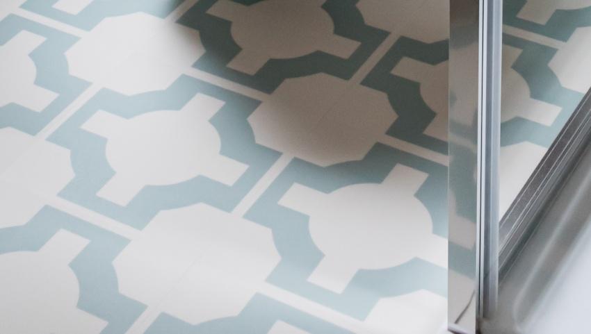 parquet eggshell floor