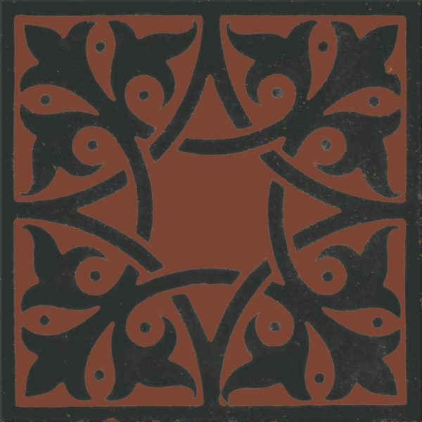 Fire Terracotta single tile swatch
