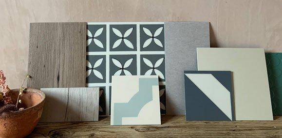 sample floor tiles