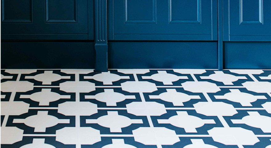parquet charcoal utility floor