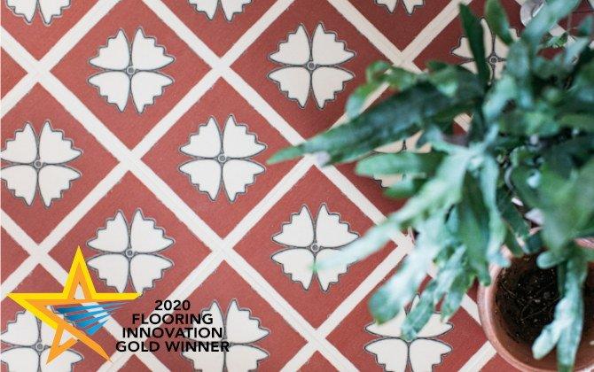 terracotta floor tiles from havrey maria win flooring innovation awards