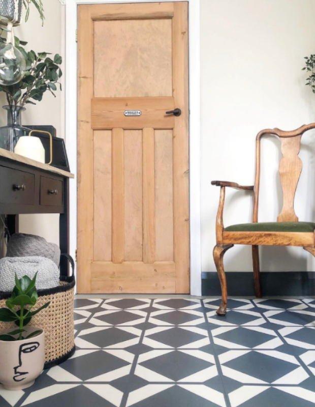 dovetail lavastone hallway renovation