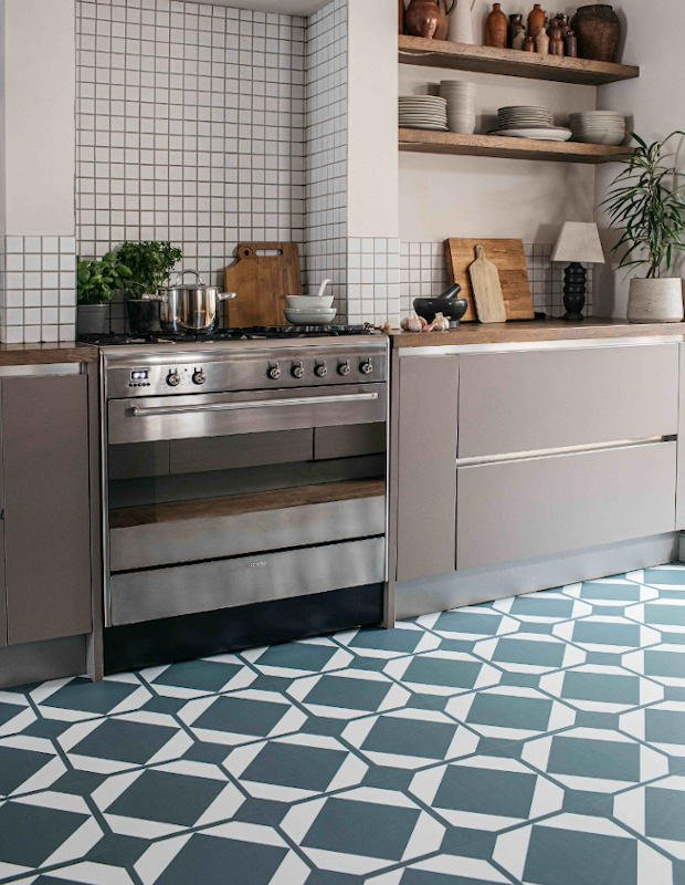 french clay kitchen tiles modenr rustic kitchen