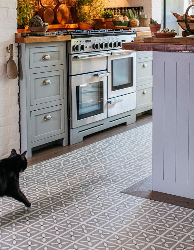 lattice seedpod kitchen flooring