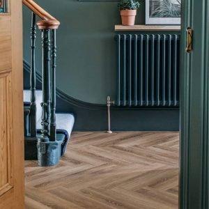 old bramble hallway floor wood effect