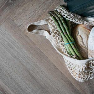 old bramble herringbone vinyl wood flooring