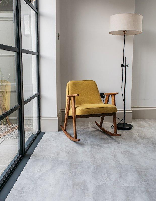 ando concrete stone floor grey contemporary flooring