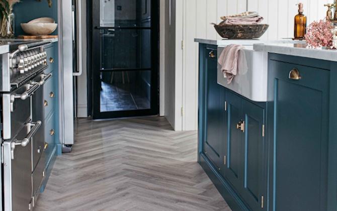 earl grey kitchen floor