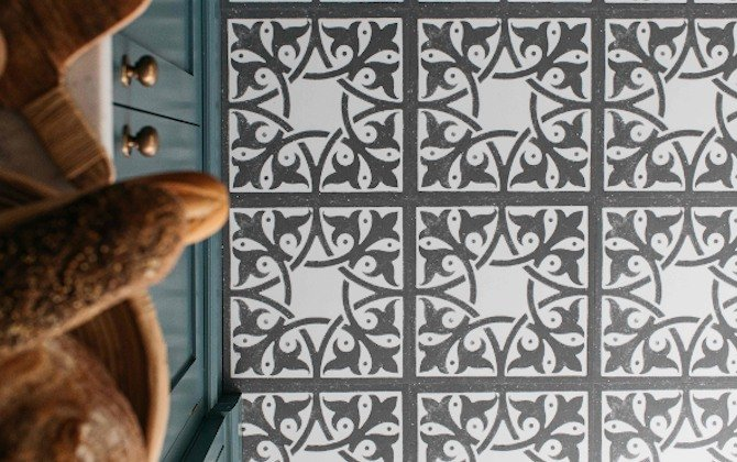 decorative encaustic floor tiles