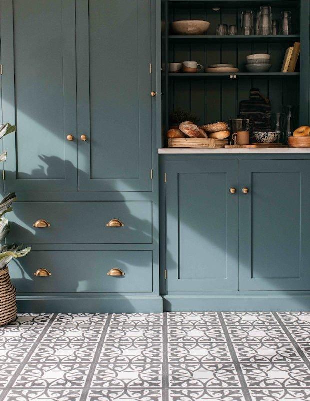 pembroke slate blue kitchen floor