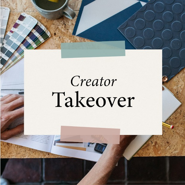 creator takeover month logo